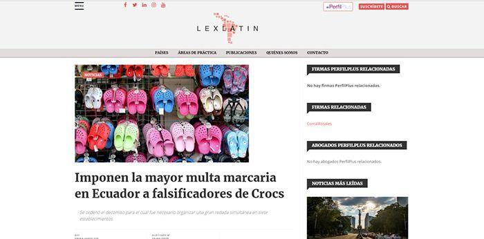 Lexlatin-crocs-ecuador-abogados