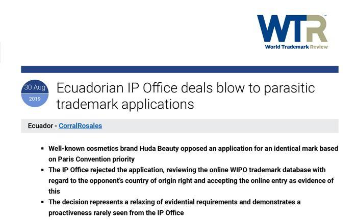 parasitarias-wtr-trademark-review-ian-wall-ecuador-abogados