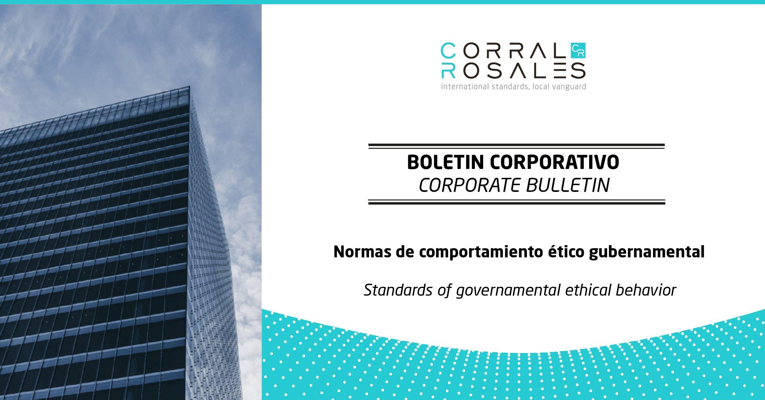 Normas de comportamiento ético - CorralRosales - Abogados en Ecuador