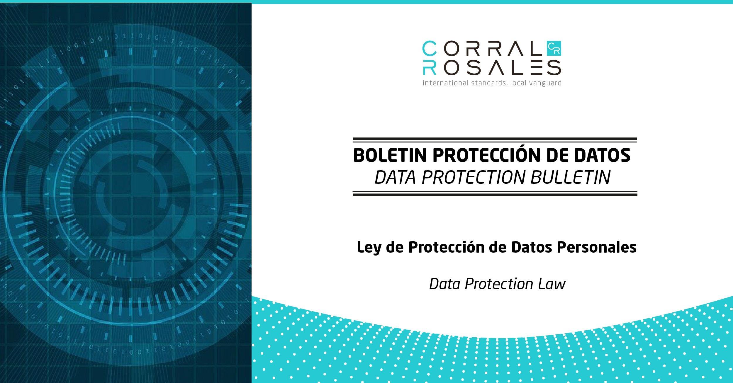 Ley de Protección de Datos Personales - CorralRosales - Abogados Ecuador