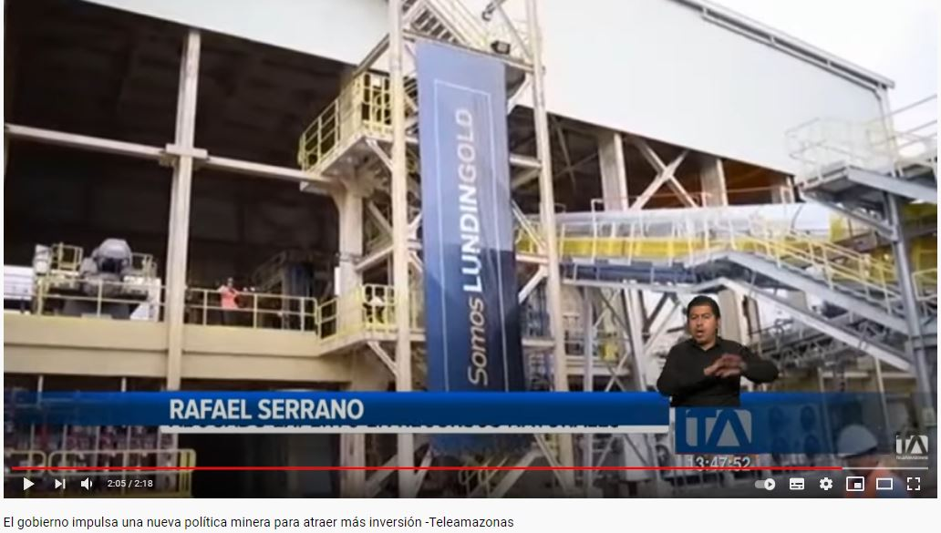 Teleamazonas - El Gobierno impulsa una nueva política minera para atraer más inversión - CorralRosales - Abogados Ecuador